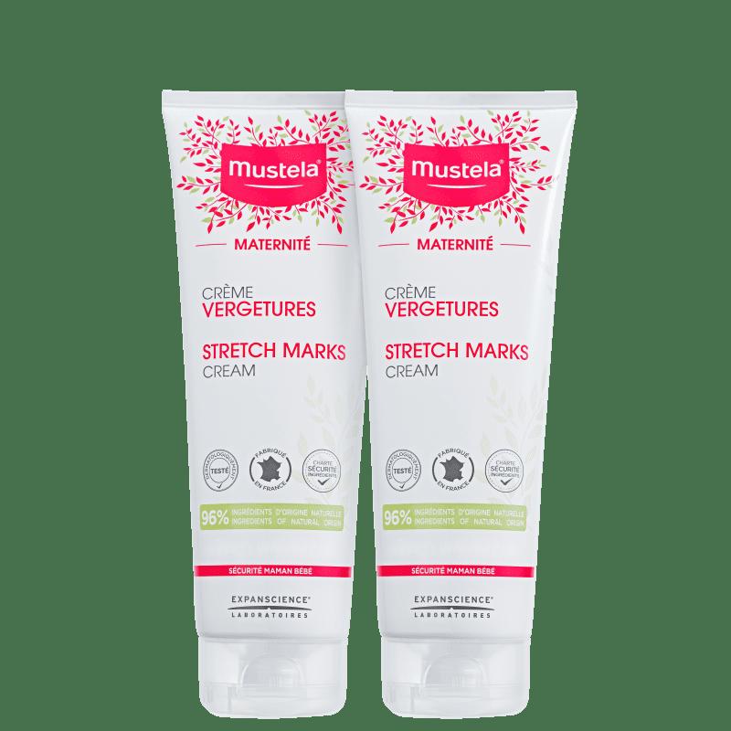 Kit Mustela Maternité Prévention Vergetures - Creme para Estrias 2x150ml