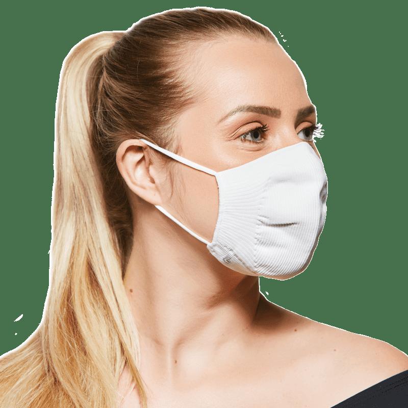 Lupo Vírus Bac-Off Branca - Máscara de Proteção (2 Unidades)