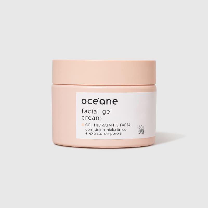 Facial Gel Cream - Gel Hidratante Facial 50g