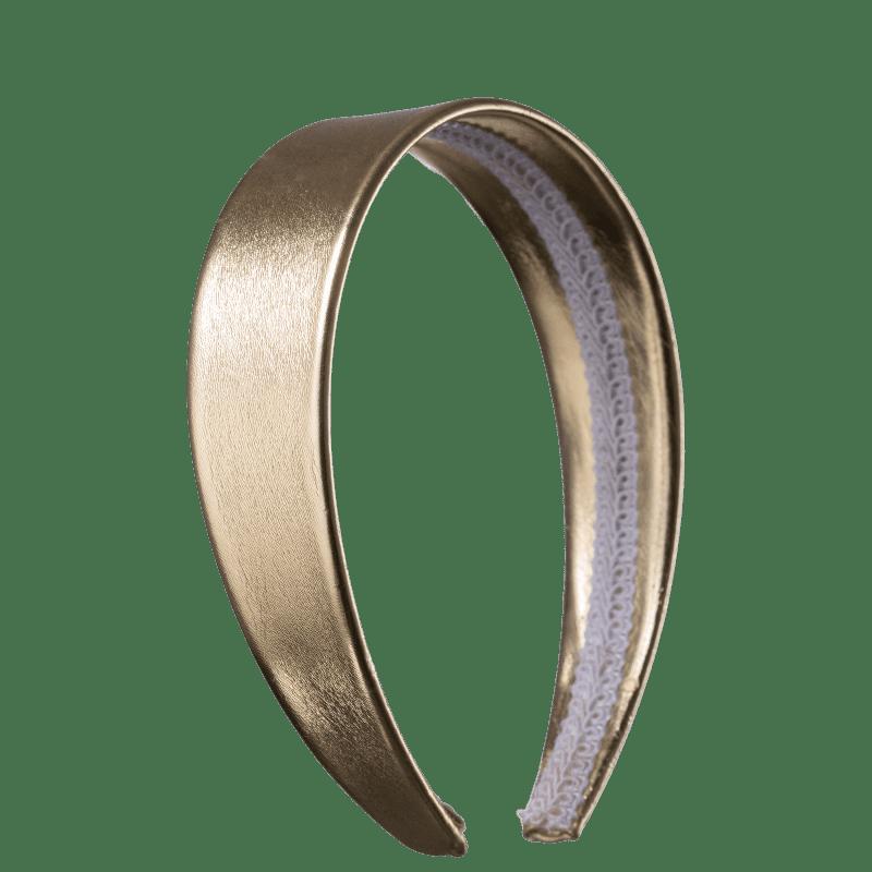Beautybox Grossa Dourado - Tiara de Cabelo