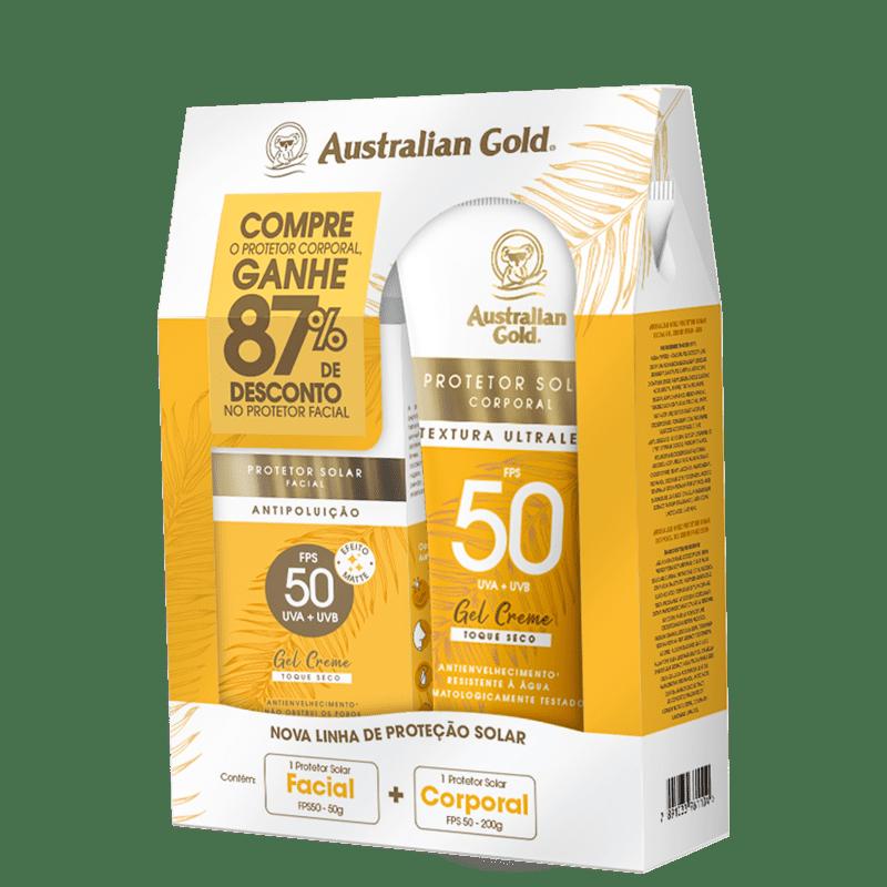 Kit Australian Gold Proteção FPS 50 (2 Produtos)