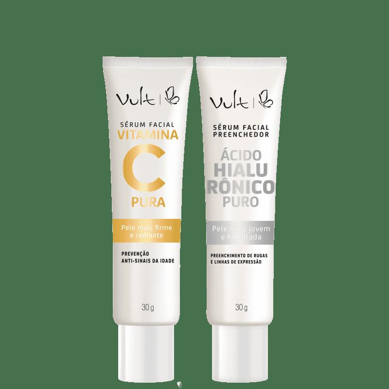 Kit Vult Vitamina C + Ácido Hialurônico