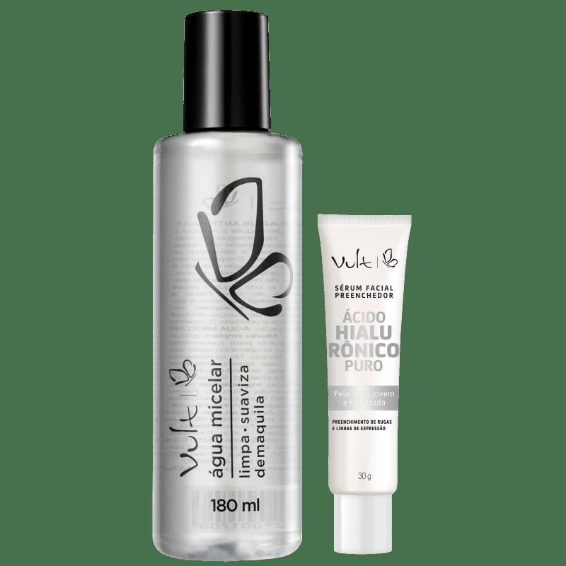 Kit Vult Demaquilante + Ácido Hialurônico (2 Produtos)