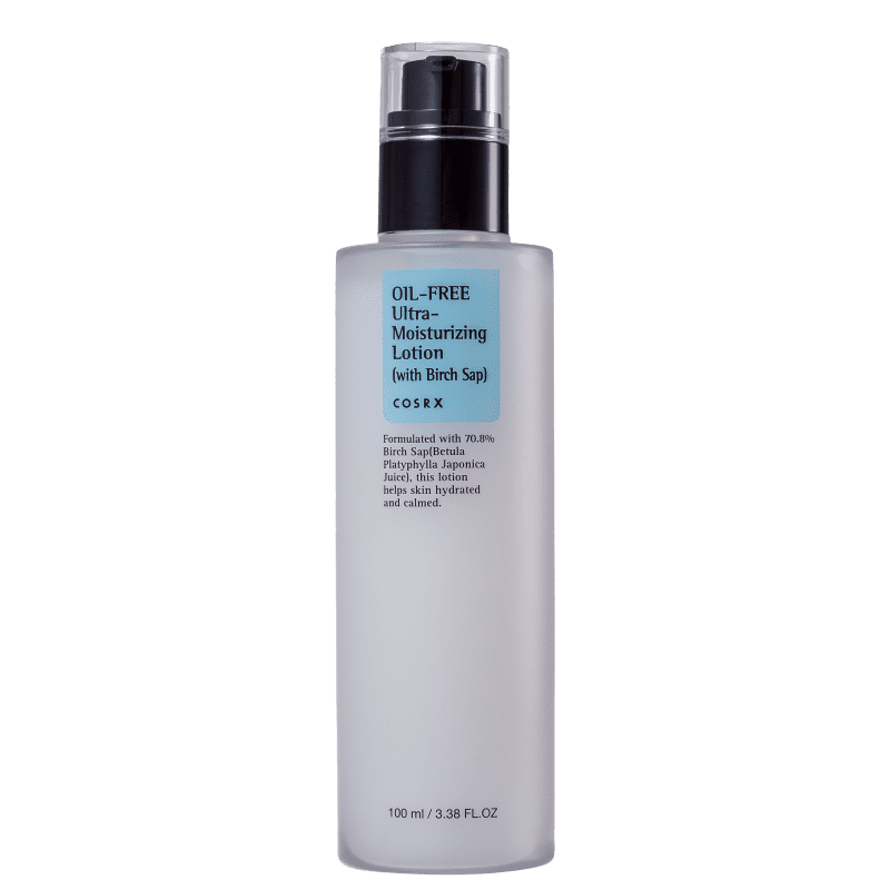 Cosrx Oil Free Ultra Moisturizing Lotion With Birch Sap - Loção Hidratante Facial 100ml