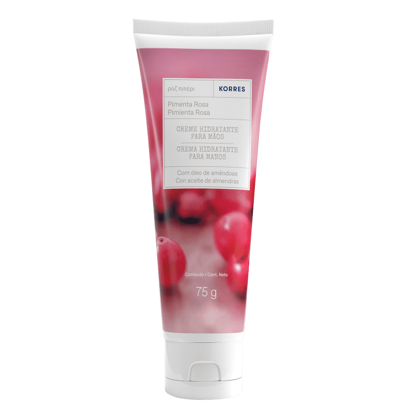 Korres Pimenta Rosa - Creme para Mãos 75ml