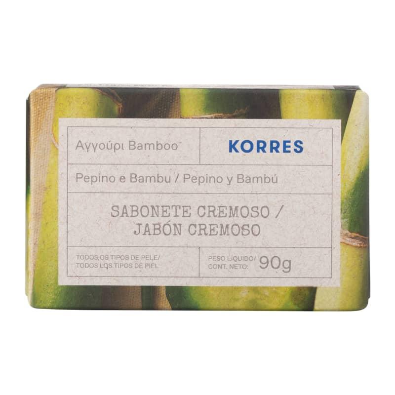 Korres Pepino e Bambu Sabonete em Barra – 90g