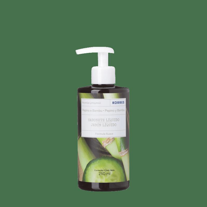 Korres Pepino e Bambu Sabonete Líquido Extra Hidratante - 250ml