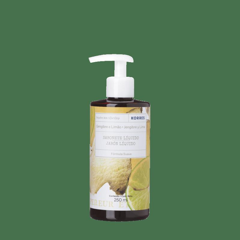 Korres Gengibre e Lima Sabonete Líquido Extra Hidratante - 250ml