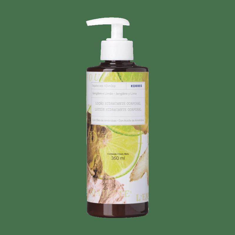 Korres Gengibre e Lima – Loção Desodorante Hidratante Corporal - 350ml