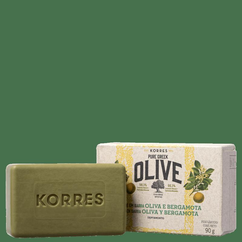 Korres Óleo de Oliva e Bergamota - Sabonete em Barra 90g