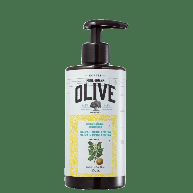 Korres Óleo de Oliva e Bergamota - Sabonete Líquido para Mãos 250ml