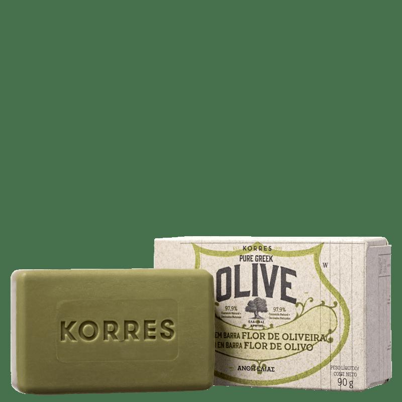Korres Flor de Oliva - Sabonete em Barra 90g