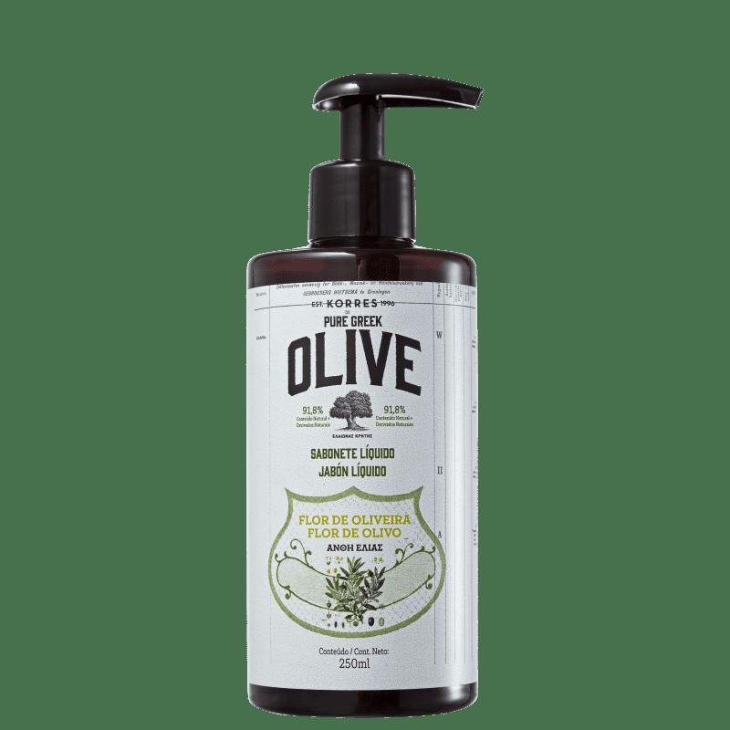 Korres Pure Greek Olive Flor de Oliveira - Sabonete Líquido 250ml