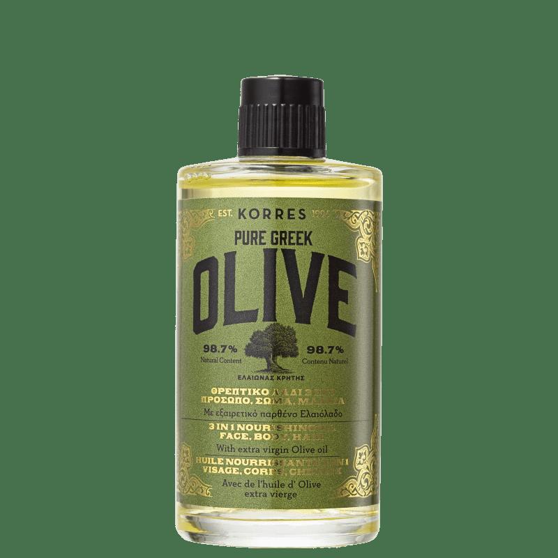 Korres Pure Greek Olive 3 em 1 - Óleo Multifuncional 100ml