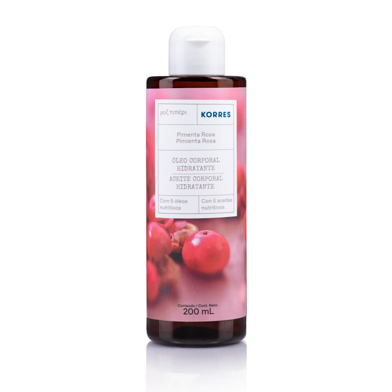 Korres Pimenta Rosa Óleo Desodorante Corporal Hidratante – 200ml