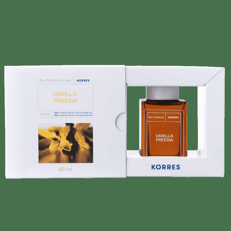 Korres Vanilla Desodorante Colônia Spray – Fragrância Feminina - 50ml