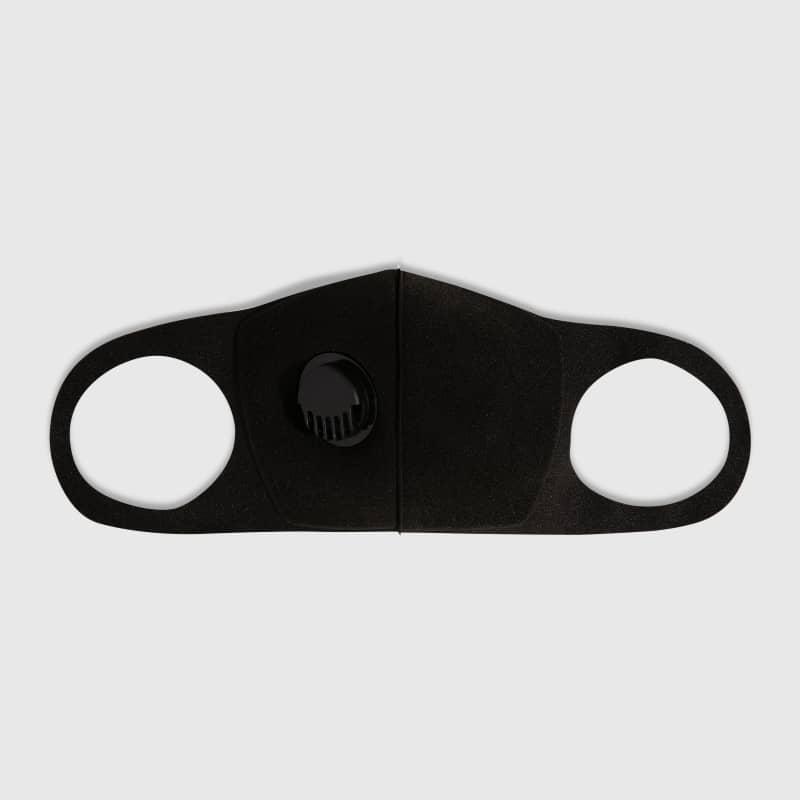 Máscara de Proteção com Respirador Lavável Preta