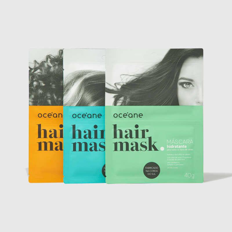 Kit Hair Mask (3 Produtos)