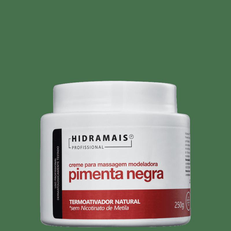 Hidramais Pimenta Negra - Creme de Massagem 250g