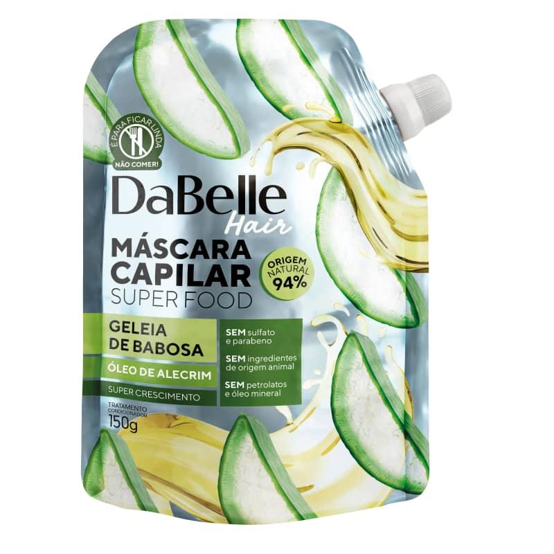 Dabelle Super Food Máscara Geleia Babosa e Óleo Alecrim 150g