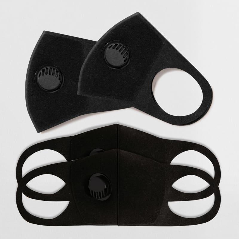 Kit 4 Máscaras de Proteção Preta