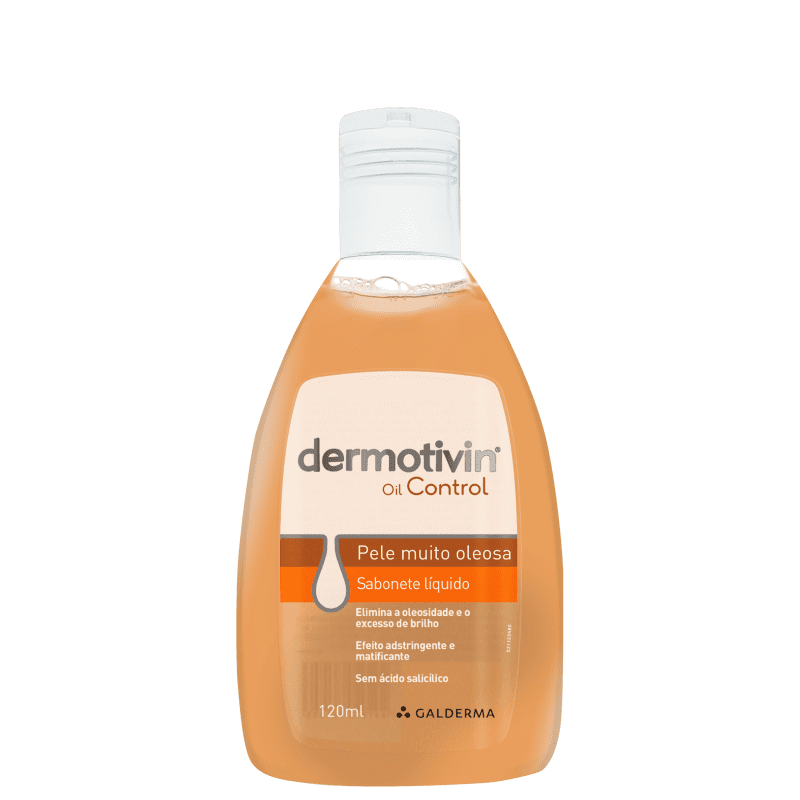 Dermotivin Oil Control - Sabonete Líquido Facial 120ml