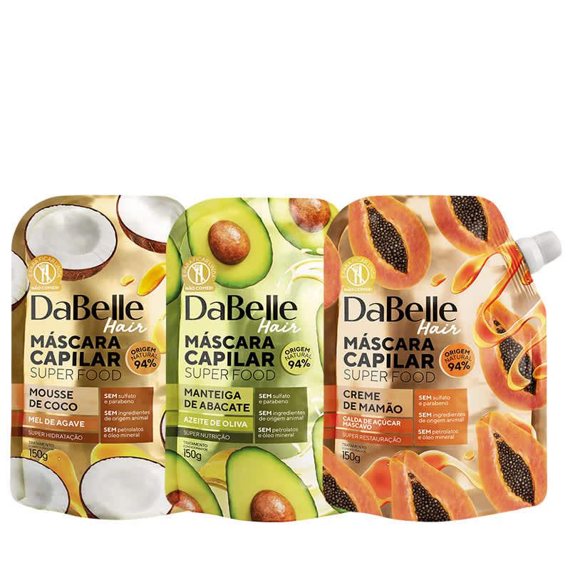 Kit DaBelle Super Food Cronograma Capilar