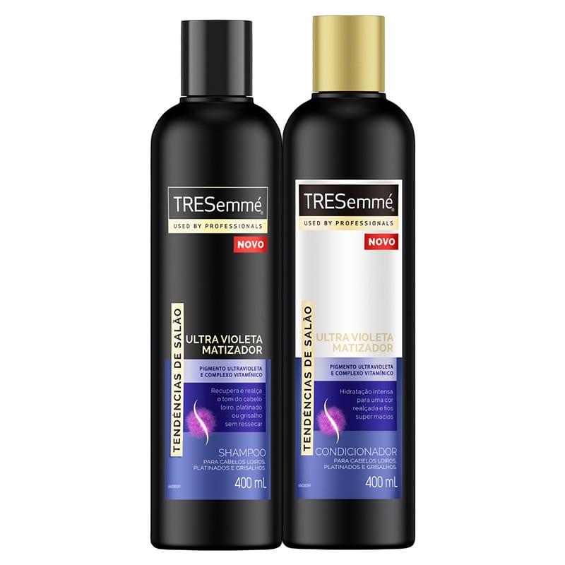 Duo Shampoo e Condicionador TRESemmé Ultra Violeta Matizador