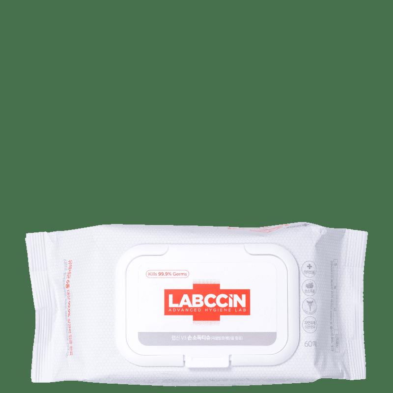 Labccin V3 - Lenço de Limpeza (60 Unidades)