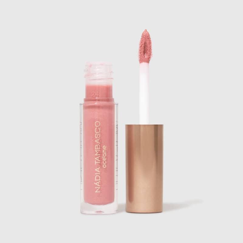 Lip To Glow Obsession - Brilho Labial Rosa Cintilante Nádia Tambasco