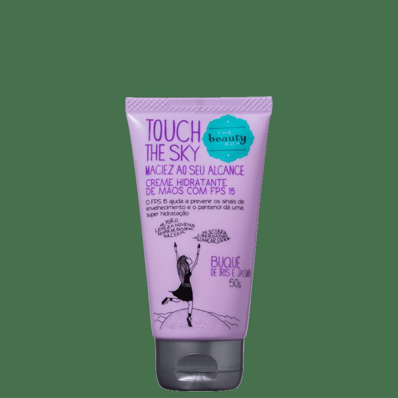 Beautybox Touch the Sky Buquê de Íris e Jasmin - Creme para as Mãos 50g