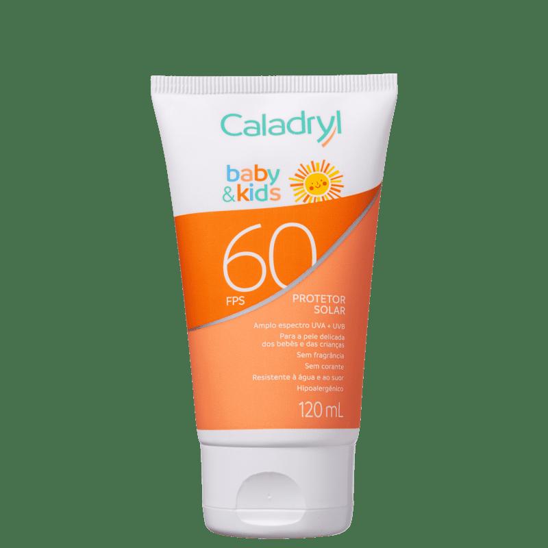 Caladryl Baby & Kids FPS 60 - Protetor Solar 120ml