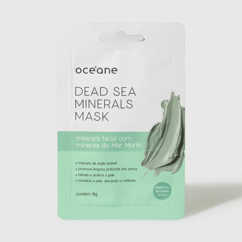 Dead Sea Minerals - Máscara Facial com Minerais do Mar Morto