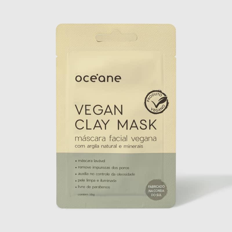 Vegan Clay Mask - Máscara Facial Vegana 15g