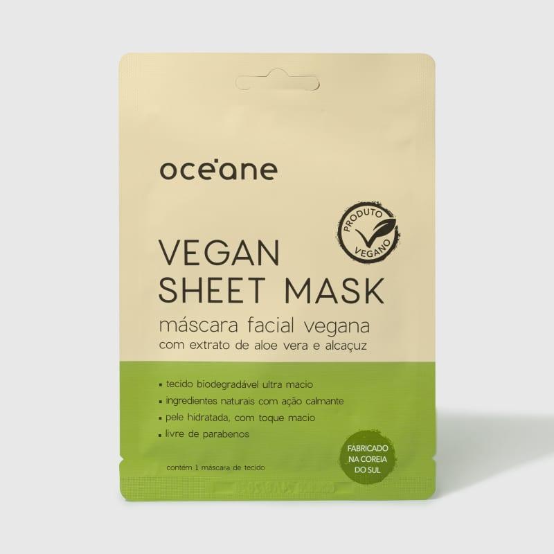 Vegan Sheet Mask - Máscara Facial Vegana