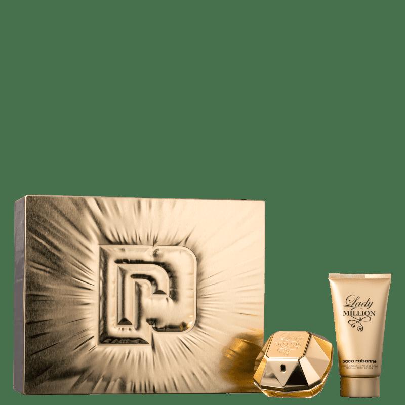 Conjunto Lady Million Paco Rabanne Feminino - Eau de Parfum 50ml + Loção Hidratante Corporal 75ml