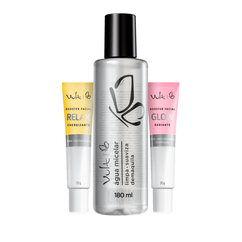 Kit Vult SPA Facial Para Brilhar (3 Produtos)