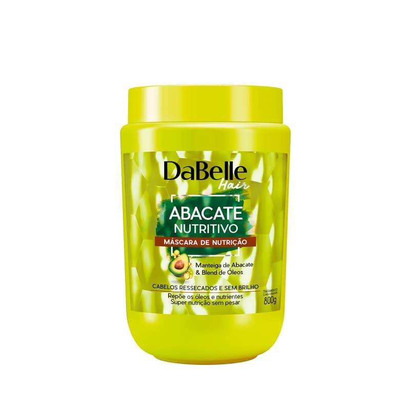 DaBelle Hair Máscara Abacate Nutritivo 800g