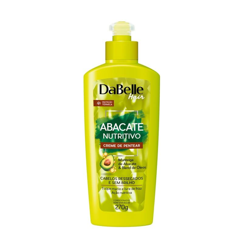 DaBelle Hair Abacate Nutritivo - Creme de pentear 270g