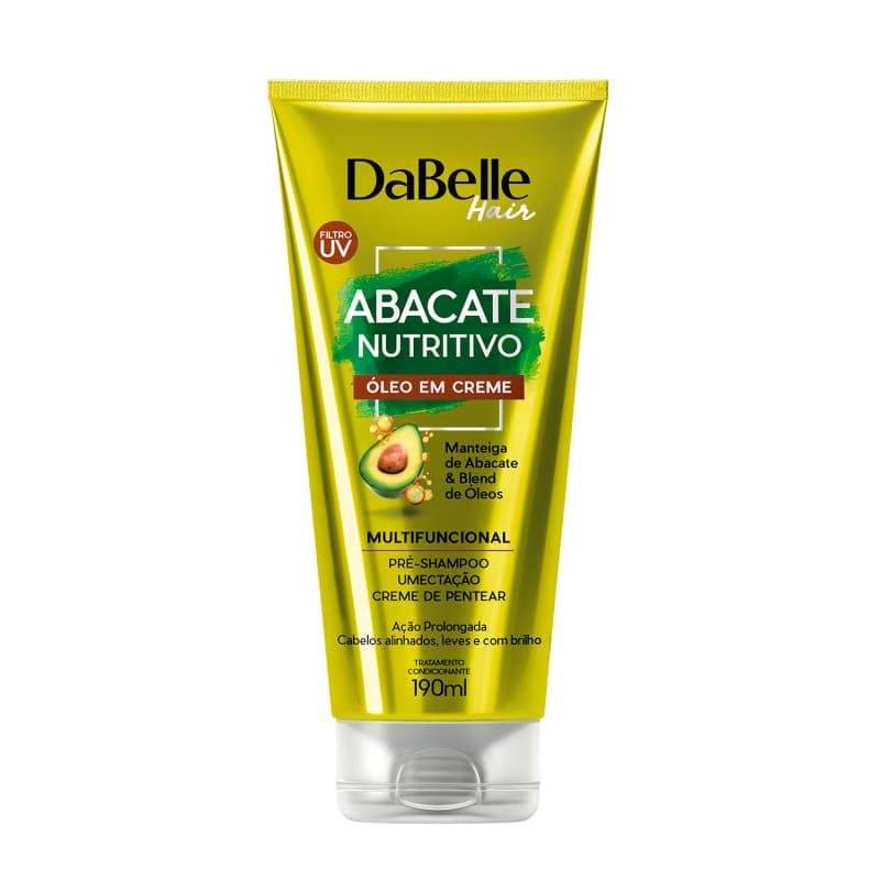 DaBelle Hair Abacate Nutritivo - Óleo em Creme 190ml