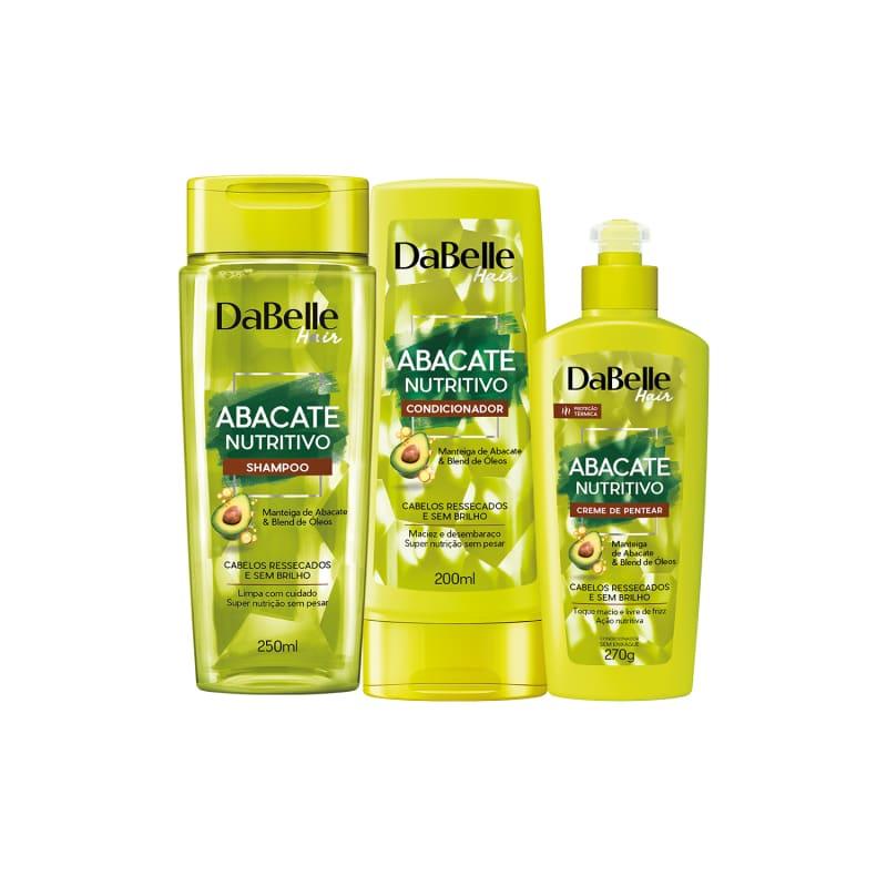 Kit Shampoo e Condicionador Abacate Nutritivo + Creme de Pentear