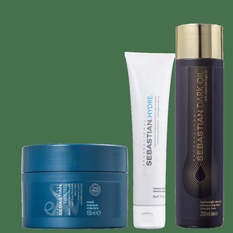 Kit Sebastian Professional Hidratação Profunda (3 produtos)