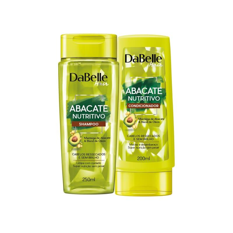 Kit Shampoo e Condicionador Abacate Nutritivo