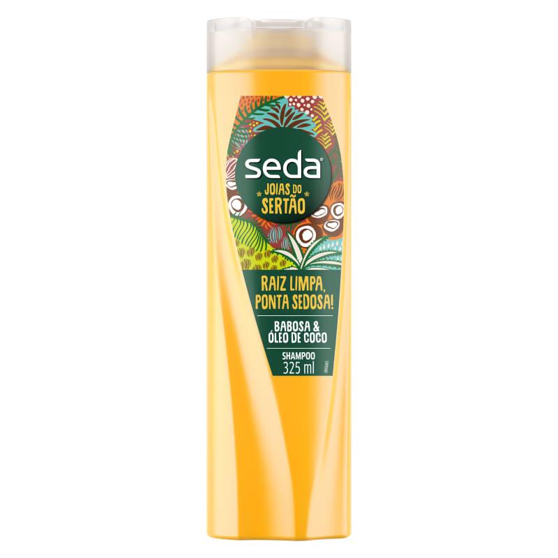 Shampoo Seda Raiz Limpa, Ponta Sedosa 325ml