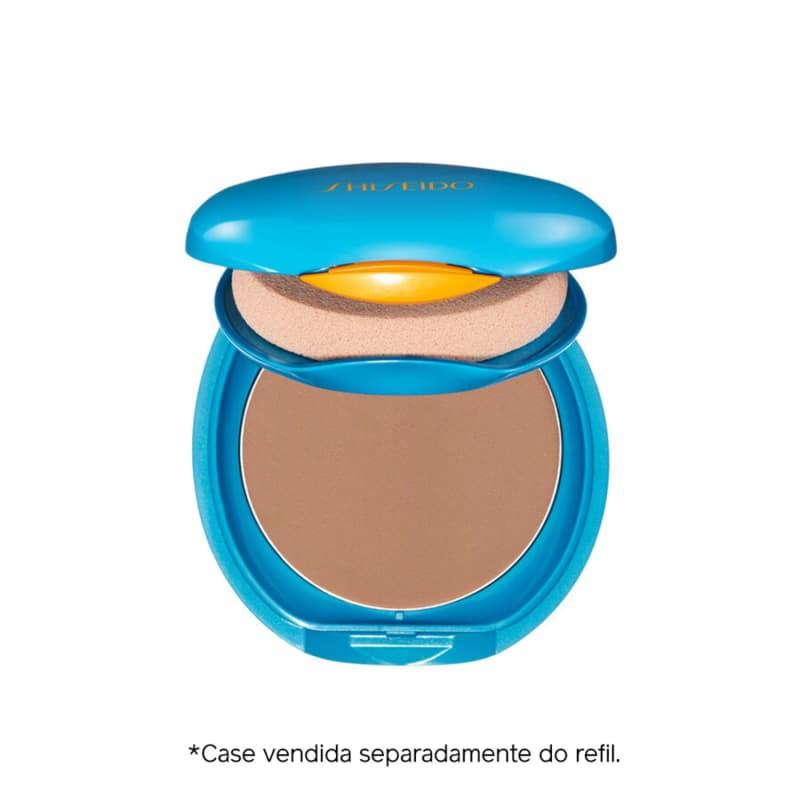 Shiseido UV Protective Compact Foundation Dark Ivory - Protetor Solar Facial Compacto FPS 35 Refil 12g