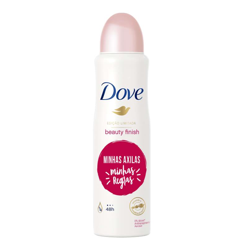 Desodorante Antitranspirante Aerossol Dove Beauty Finish 150ml