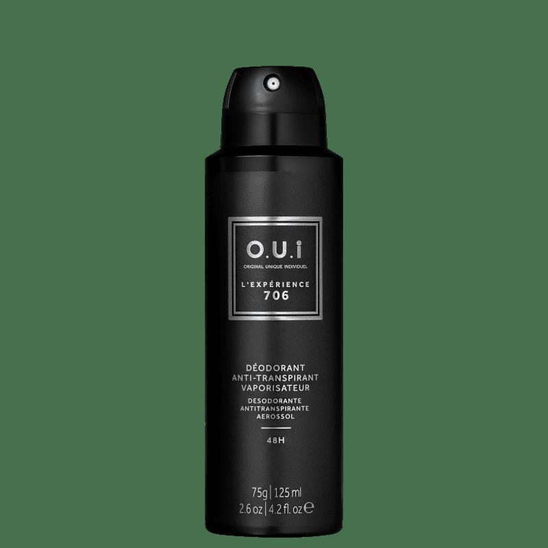 O.U.i L'Expérience 706 - Desodorante Masculino, 75g