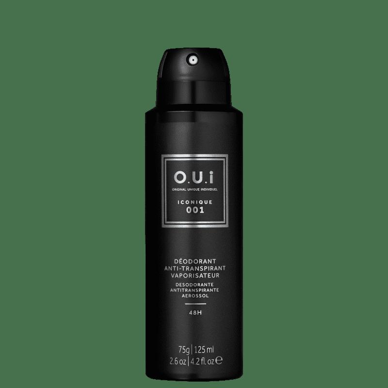O.U.i Iconique 001 - Desodorante Masculino, 75g