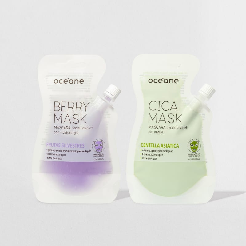 Kit Berry Mask + Cica Mask