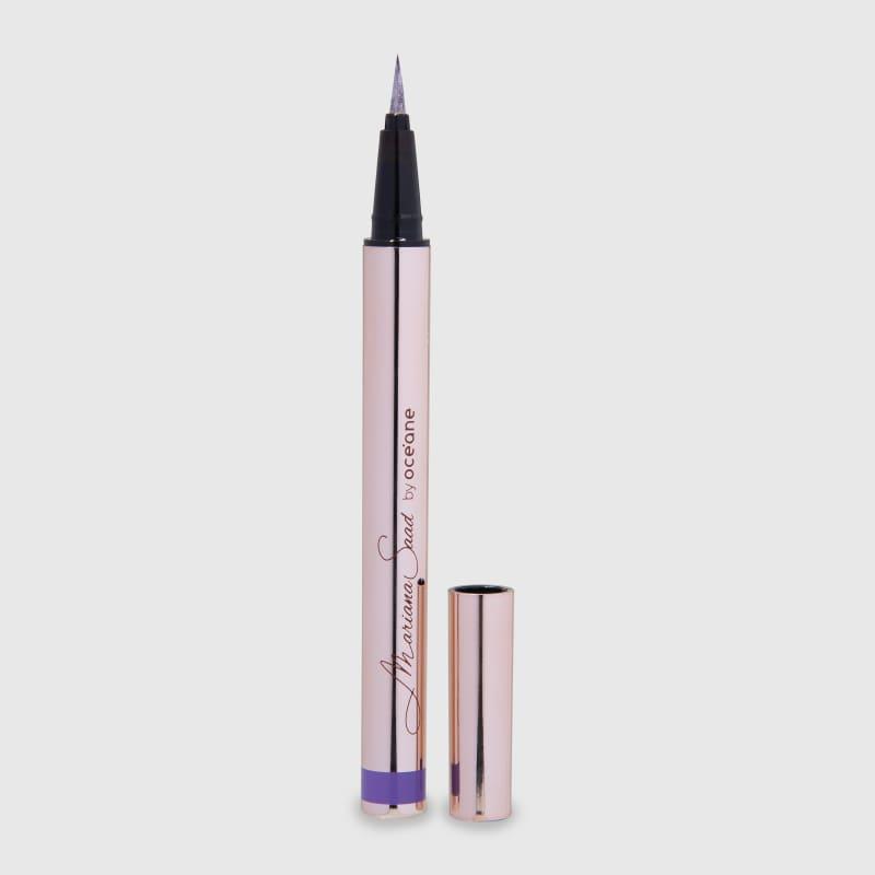 Eyeliner Real Violet Mariana Saad - Caneta Delineadora Violeta 1,8g